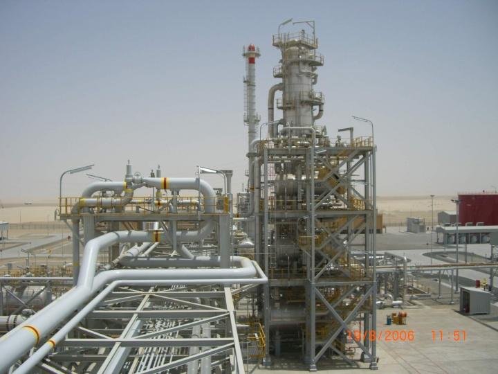 Bab gas development project