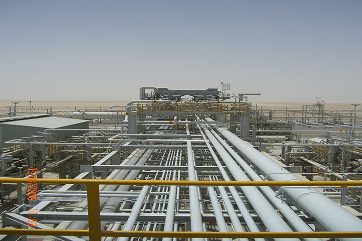 Qatar Gas 3&4 LNG Onshore Facilities • Lahoud Engineering